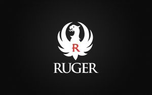 Ruger Wallpaper with White Logo and CF Background by dhrandy