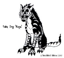 Tabu Dog 'Raya' by Lorfis-Aniu