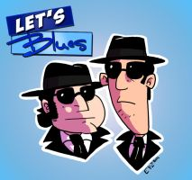 The Blues Brother Animated by theEyZmaster