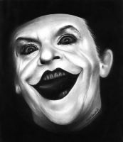 Jack Nicholson as the joker by vipinraphel
