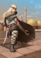Arabic Assassin by zhidkov