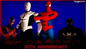 50 years of Spidey! by BrandiSwick227