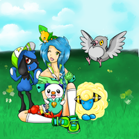 Pokemon OC by LookAliveHolly