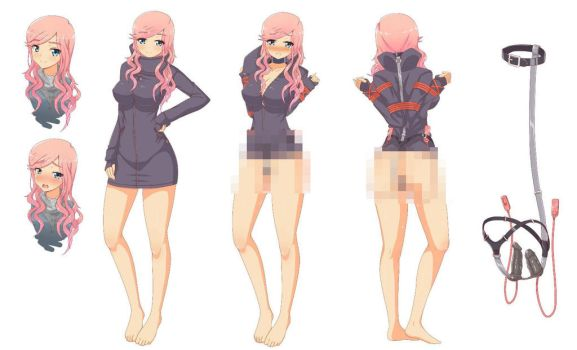 Commission: Character Design 2 by virus-g