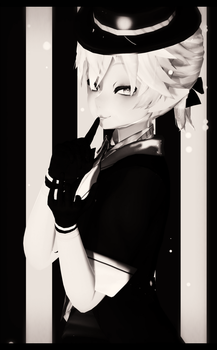 Welcome to this Monochrome world! by Ohbey