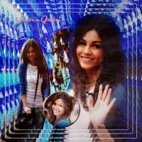 Victoria Justice Blend by EBELULAEDITIONS