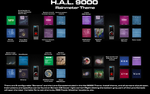 HAL 9000 Rainmeter Theme by ts-looney
