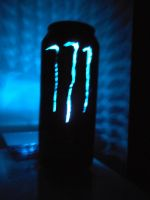 Monster Energy Absolute Zero Can Light II by chaptmc