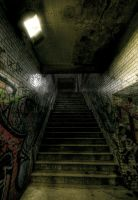 Underground Passage by Beezqp