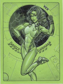 She Hulk by MichaelDooney