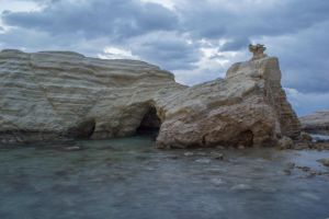 Sea Cave Rock by G33sart