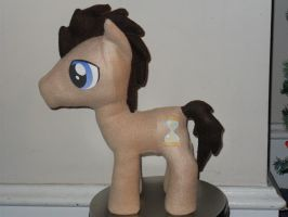 Dr. Whooves Plush by SewShy