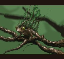 30 minute Tree Frog by EzraHardman