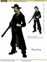 Wyatt Earp - Chara Design by Cilab