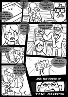 Gravity Falls Comic : Golden Surprise 1 by Vulpeca