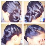 French Braid Twisted Bun by SAMtheAvenger