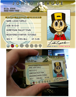 LOCKE's trainer license by pettyartist