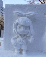 SNOW Statue RIN by atsubetsukumin