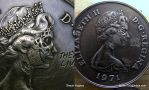 They Live Carved Coin by Shaun Hughes Hobo Nickel by shaun750
