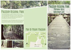 macedon regional park (brochure design, side one.) by stephhabes