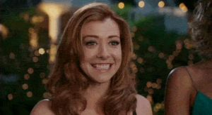 Alyson Hannigan being perfect, as usual by JohnFelipo