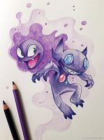 Ghostpokis by FlyQueen