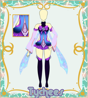 Outfit Adoptable (Auction) #15 (CLOSE!!!) by Tychees