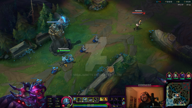 League of Legends Overlay: Void Fizz by MirajaneTV