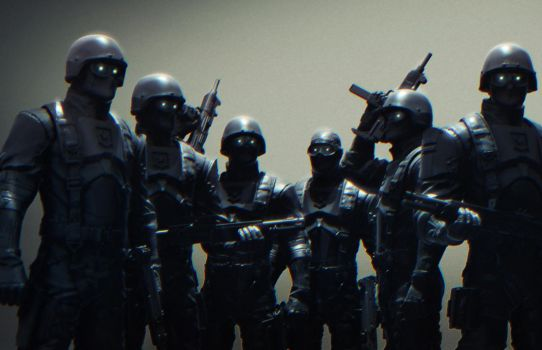 Troops by mojette