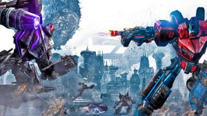 transformers war for cybertron wallpaper by Nick004