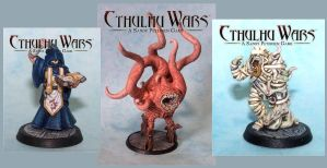 Cthulhu Wars by snuurg
