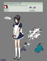 AskSasuke: What would you look like as a maid? by Livori