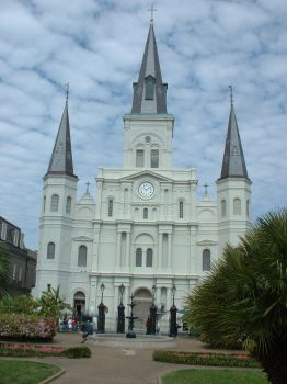 St. Louis Cathedral by mistressjera-stock
