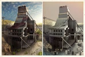 Abandoned Mine I by ChemicalAlia
