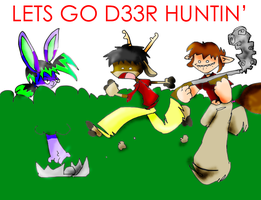 HUNTIN FOR D33R by GPCI