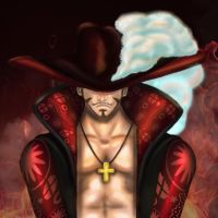 Dracule Hawk-Eyes Mihawk by Broo0oozz