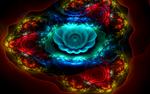 colourful flower creation by Andrea1981G