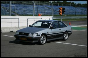 1984 Toyota Corolla Coupe by compaan-art