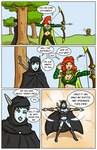 Archery contest comic page 01 by Ritualist