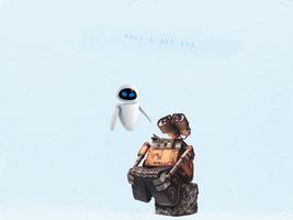 wall-e-paper by whookatri