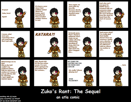 Zuko's Rant: The Sequel by Doxeh