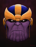 Thanos by MarshalGraham