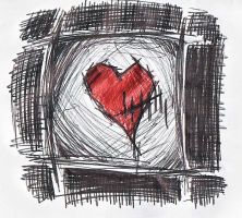 Heart Toll by Black-Hearted-Poet