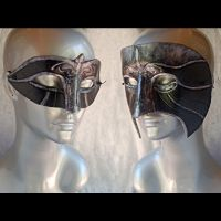 His and Hers Assassin Masks by Angelic-Artisan