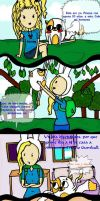 Comic Fiolee. Capitulo 1 by Aelita222