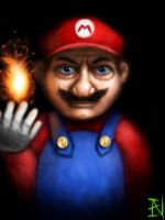 super real mario by Ian-exe