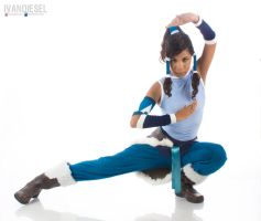 Korra Cosplay by IVANDIESEL
