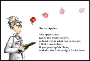 Rotten Apples by DickStarr