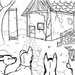 AS: Cozy Cabin by NiaWolf15