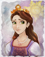 Portrait of a Queen by 77Shaya77